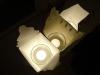 Hjemmelavet Juleby - Brug helst batteridrevet lys til julebyen