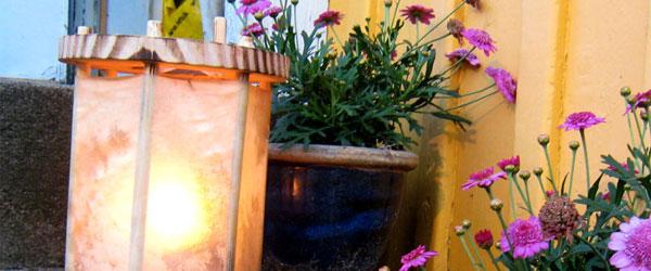 DIY Middelalder lanterne – Hyggelig og nærmest økologisk lanterne i træ