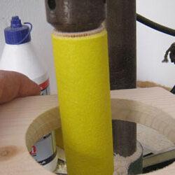 DIY Sliberulle til boremaskinen