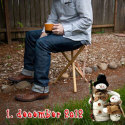 Byg selv en jagtstol til farmand - DIY julegaver