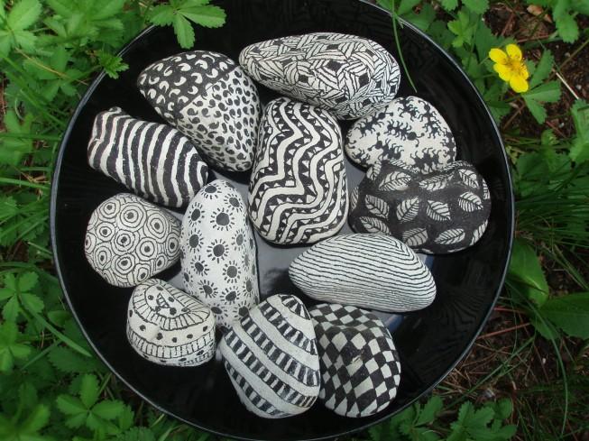 DIY Kunst på sten