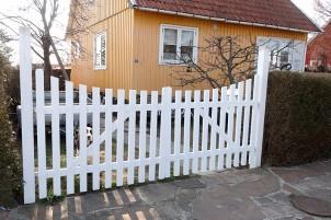 Hjemmelavet havelåge færdig – Part 3
