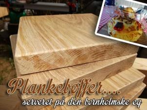 Plankebøf planker