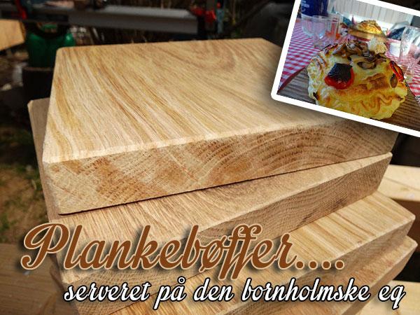 Behandling af planker til plankebøf