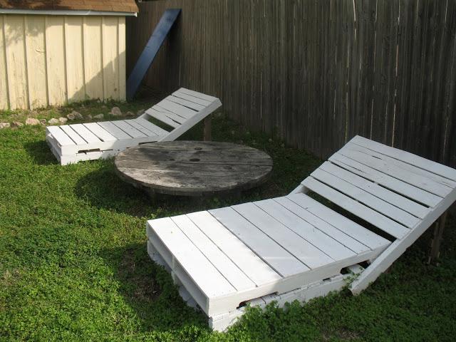 g r det selv til hus have og k kken sommerm bler bygget af genbrugs paller. Black Bedroom Furniture Sets. Home Design Ideas