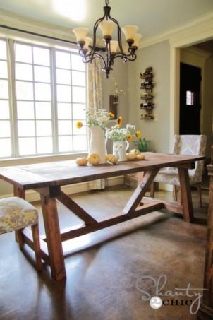 Byg et flot spisebord