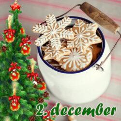 Hjemmelavet juleis, brunkage flødeis