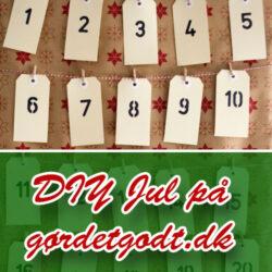 Årets gør det selv julekalender på Gør Det Godt 2013