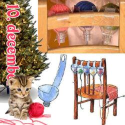 Gør Det Selv - kattesikker garnholder