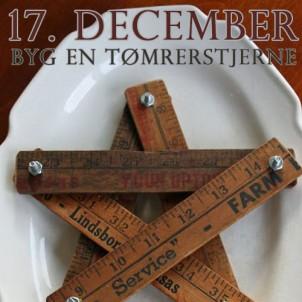 DIY Julegave 17 – Byg en fin julestjerne af en tommestok