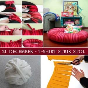 DIY Julegave 21 – Strik en stol