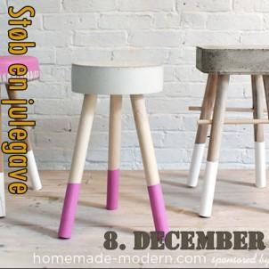 DIY julegave 8 – Julegaver støber man da selv -i beton