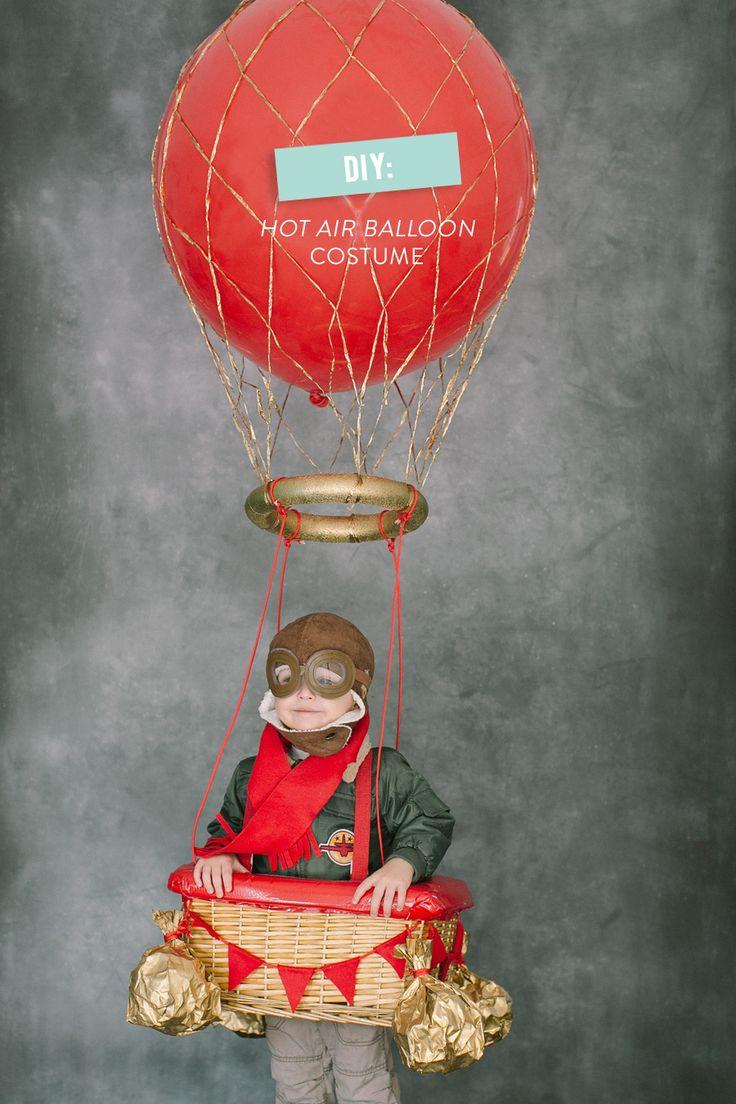Udklædning til Fastelavn - Sjove kostumer - Ballonskipper i syne, af banen af banen