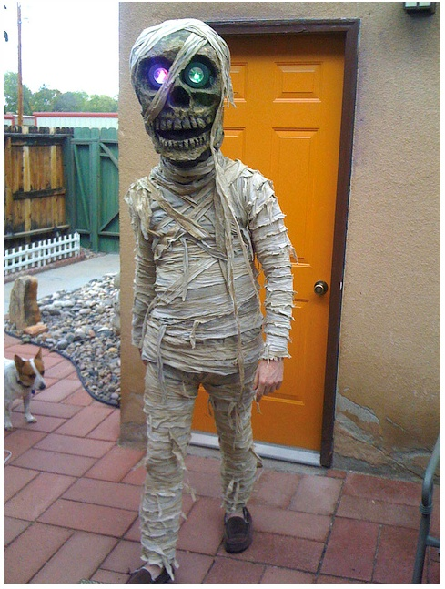 Udklædning til Fastelavn - Sjove kostumer - En rigtig uhyggelig en af slagsen