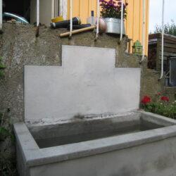 Højbed i beton