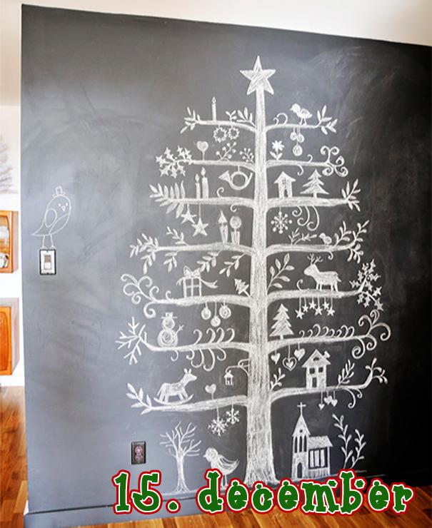 hvid pyntet juletræ