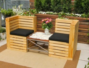 Havemøbler af paller