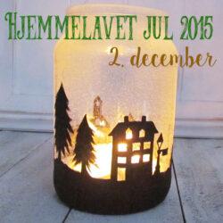 hjemmelavet julehygge - syltet lys