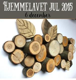 Hjemmelavet Juledeko – En buket træ
