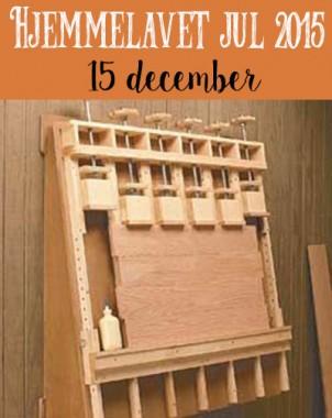 Hjemmelavet Værktøjs jul – Limstation