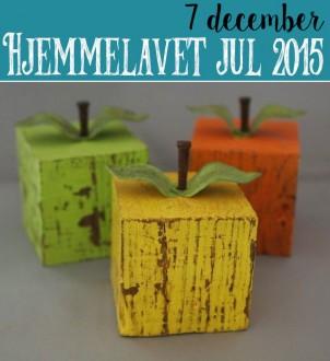 Hjemmelavet Juledeko – Et æble om dagen