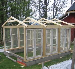Hjemmelavede drivhuse, og andre gode idéer til haven
