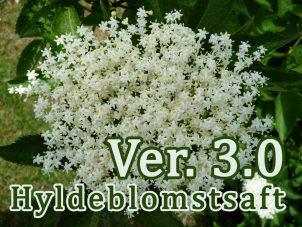 Hyldeblomstsaft Ver.3.0 – mindre sukker