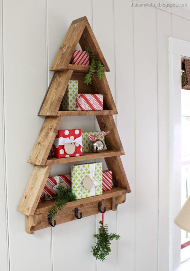 Adventsgaver / Julegavetræ – Byg det selv